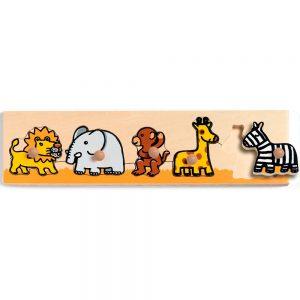 Puzzle de madera Animales de Djeco